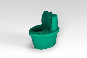 Туалет торфяной «Rostok» зеленый