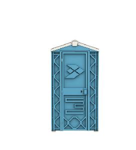 Туалетная кабина универсал ECOSTYLE (без бака)