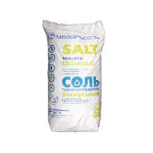 Соль таблетированная импортная 25 кг (Мозырьсоль Universal)